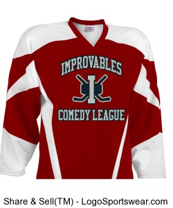 Improvables Comedy League - Red Design Zoom